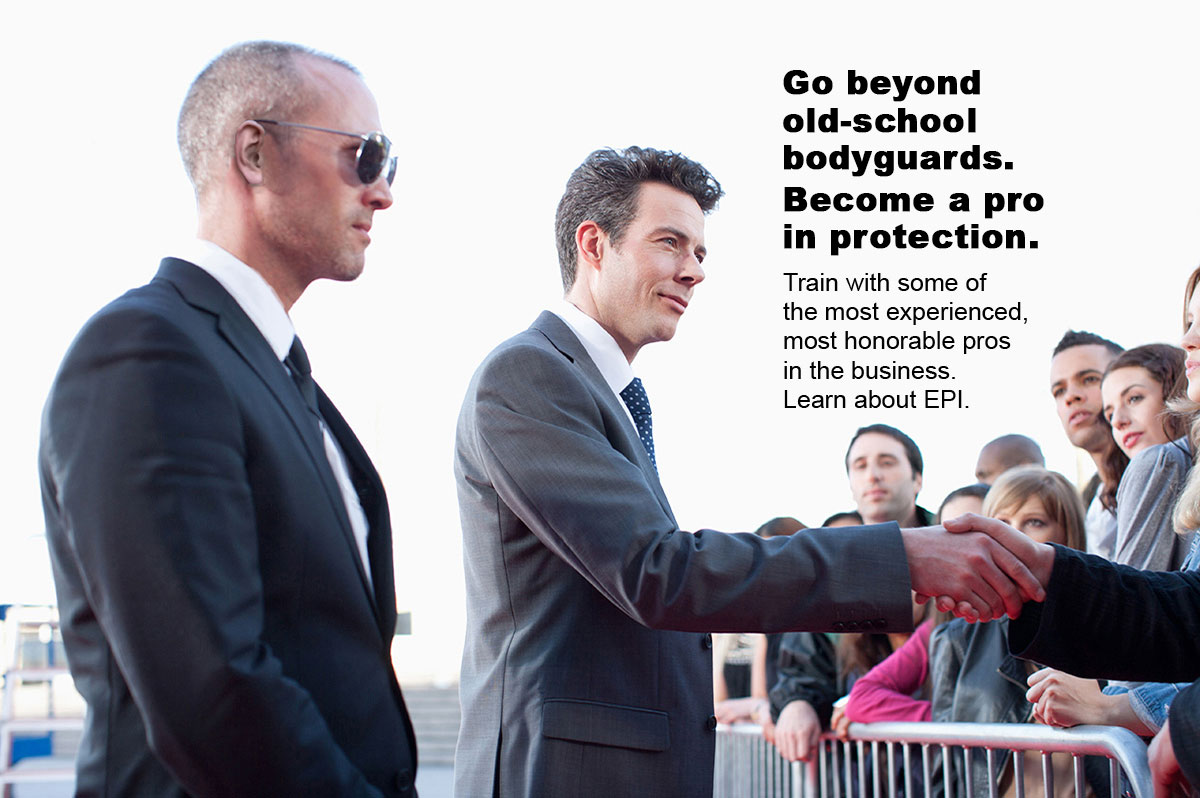 Epi Certified School Of Bodyguard Executive Protection Training